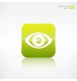 Eye icon human eye symbol vector