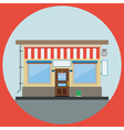 Shop flat vector