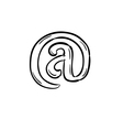 Sketch of the e-mail sign vector