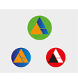 A letter logo icon symbol vector