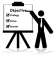 Business objectives vector