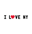 I love new york1 vector