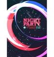 Night party vector