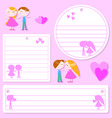 Love sticker vector