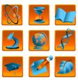 Science and education icon vector