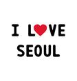 I love seoul1 vector