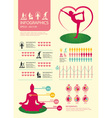Infographic sport for health vector