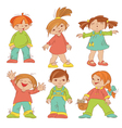 Children sketches vector