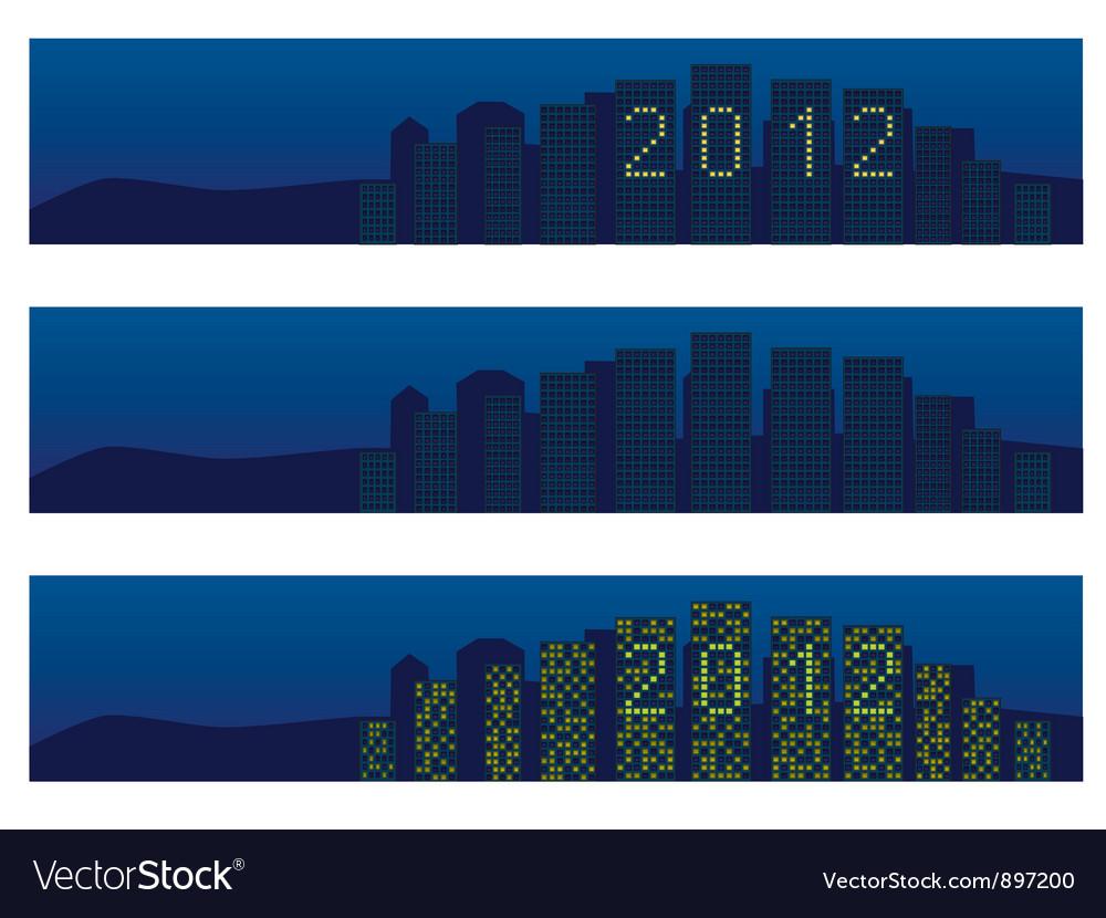 Cityscape 2012 vector | Price: 1 Credit (USD $1)