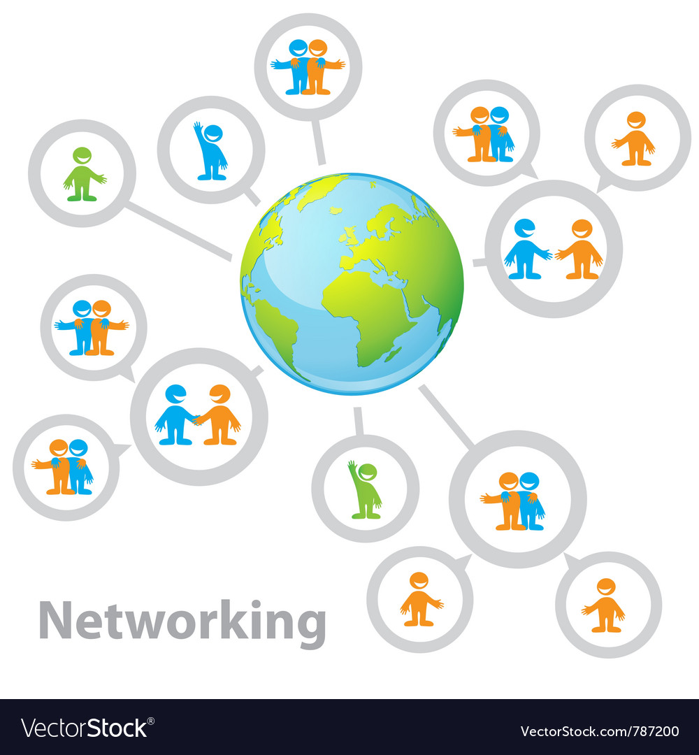 International network vector | Price: 1 Credit (USD $1)