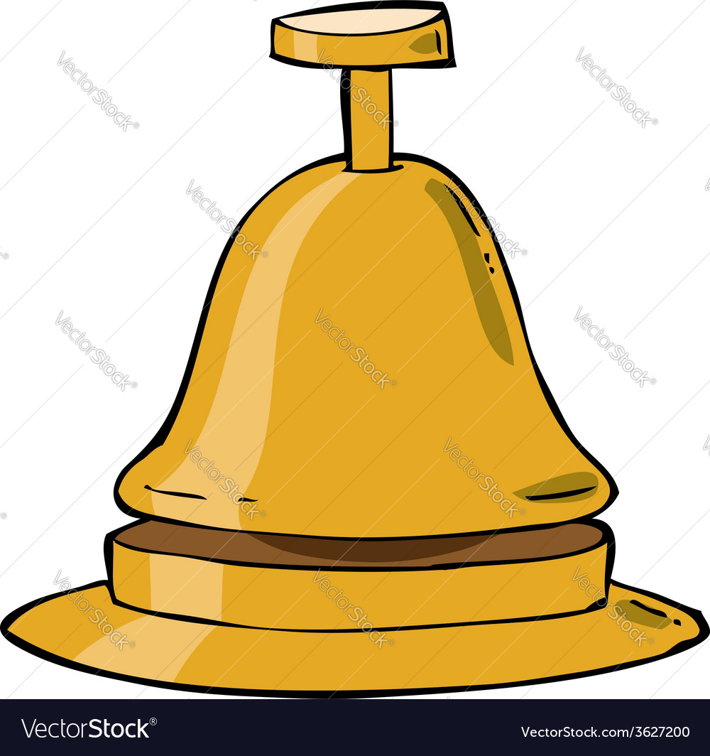 Reception bell vector | Price: 1 Credit (USD $1)