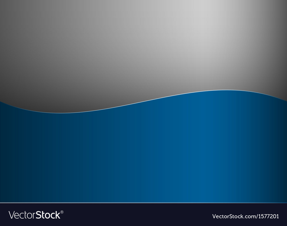 Background blue stripe wave one grey vector | Price: 1 Credit (USD $1)