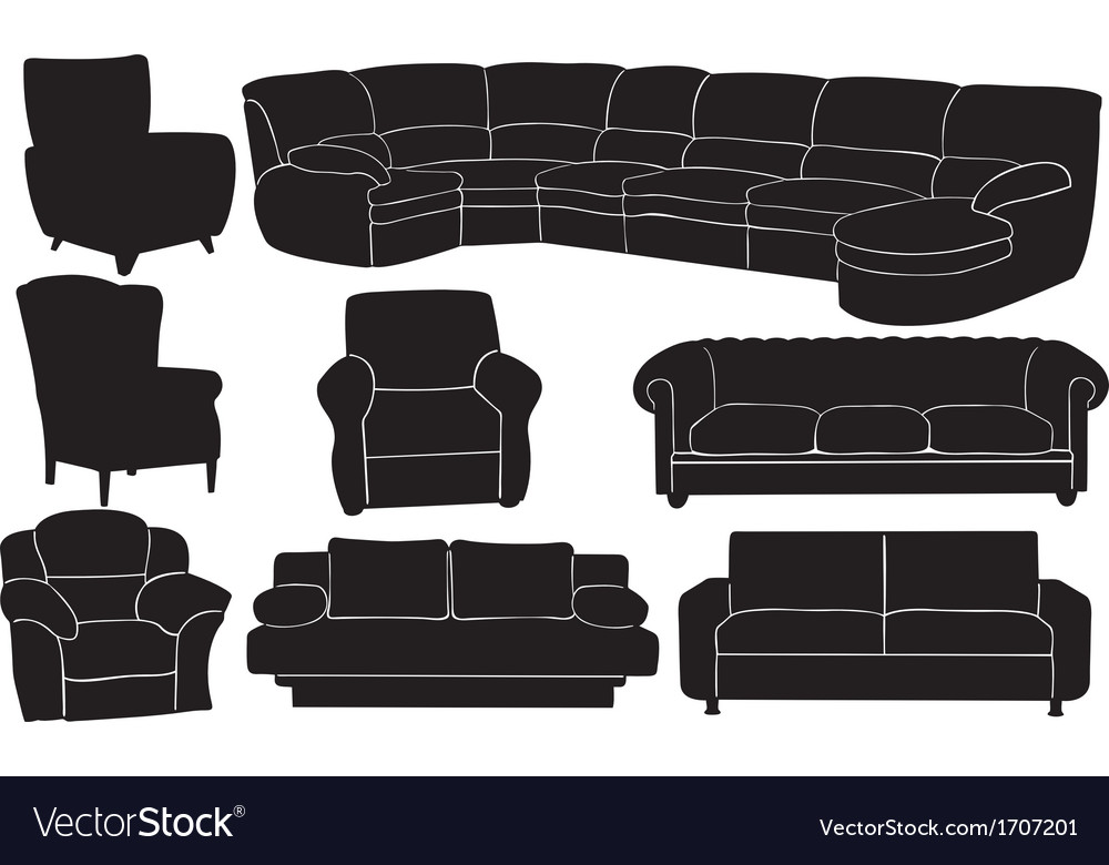 Couches vector | Price: 1 Credit (USD $1)