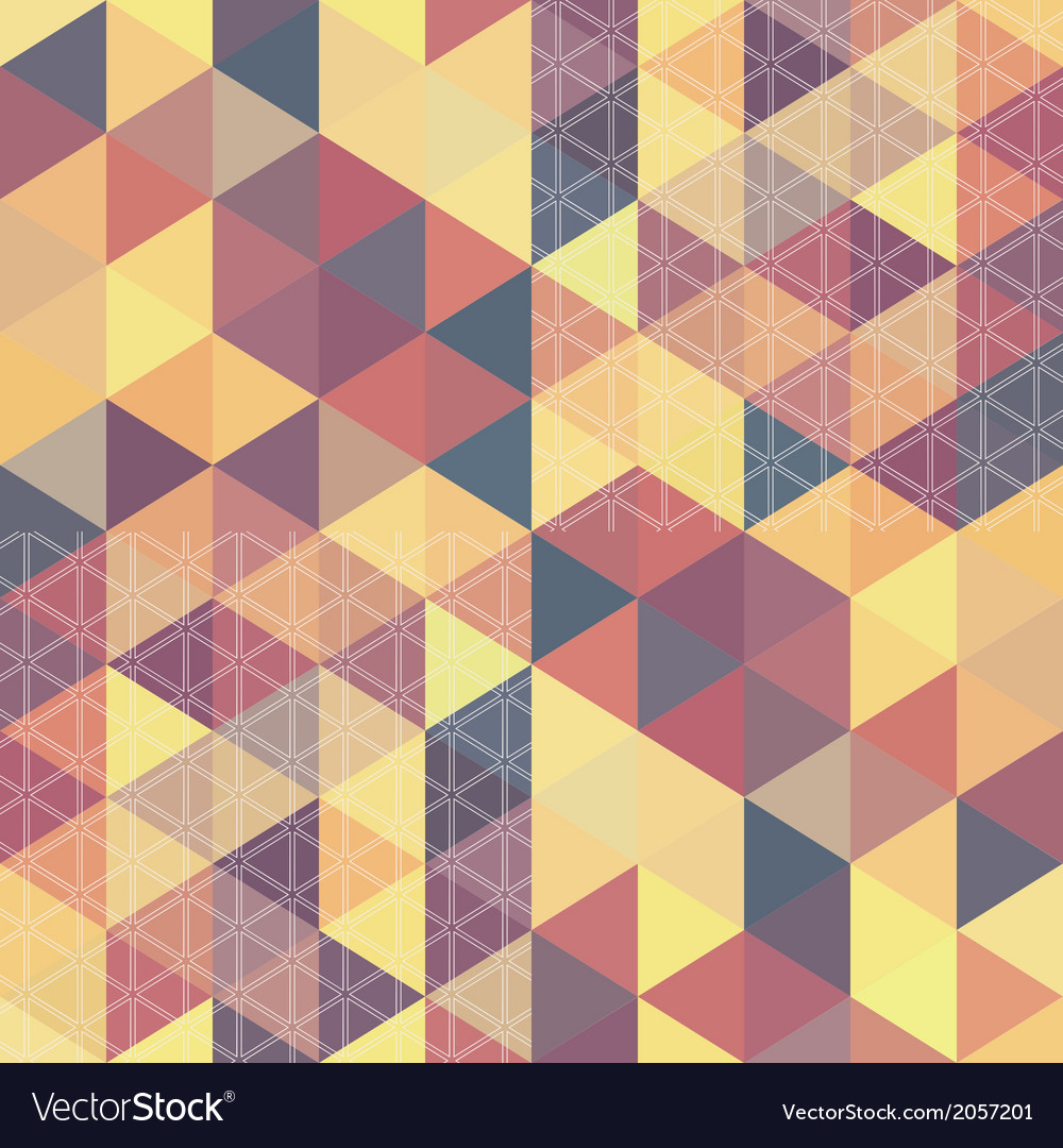 Pattern geometric hexagon with triangles vector   Price: 1 Credit (USD $1)