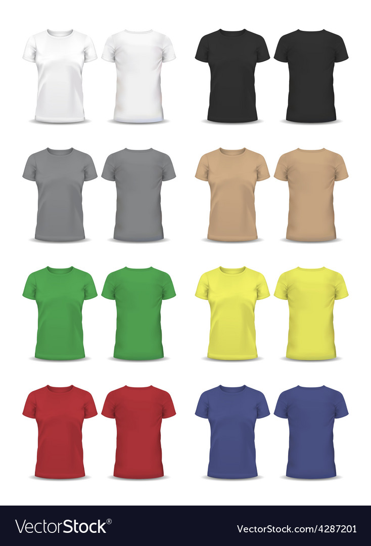 T-shirt design template  raglan sleeve vector | Price: 1 Credit (USD $1)