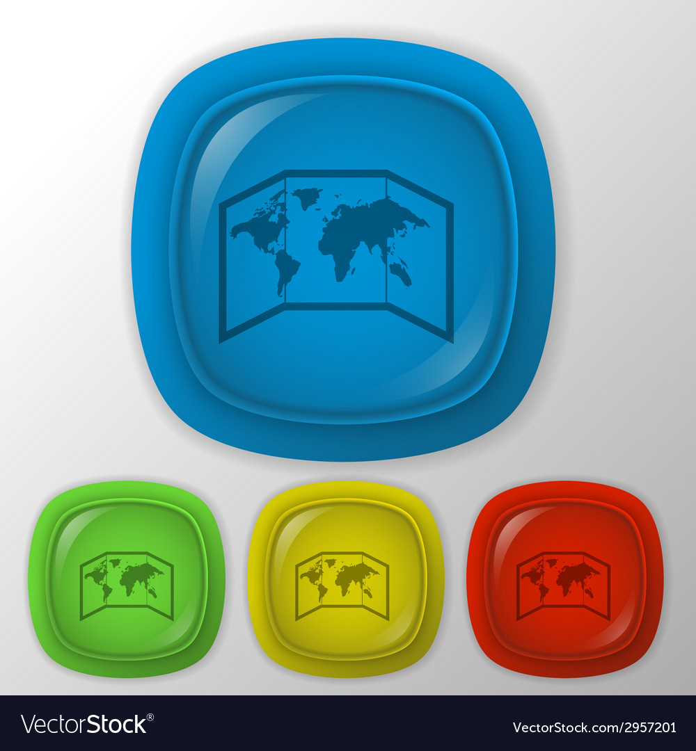 World map-countries vector | Price: 1 Credit (USD $1)