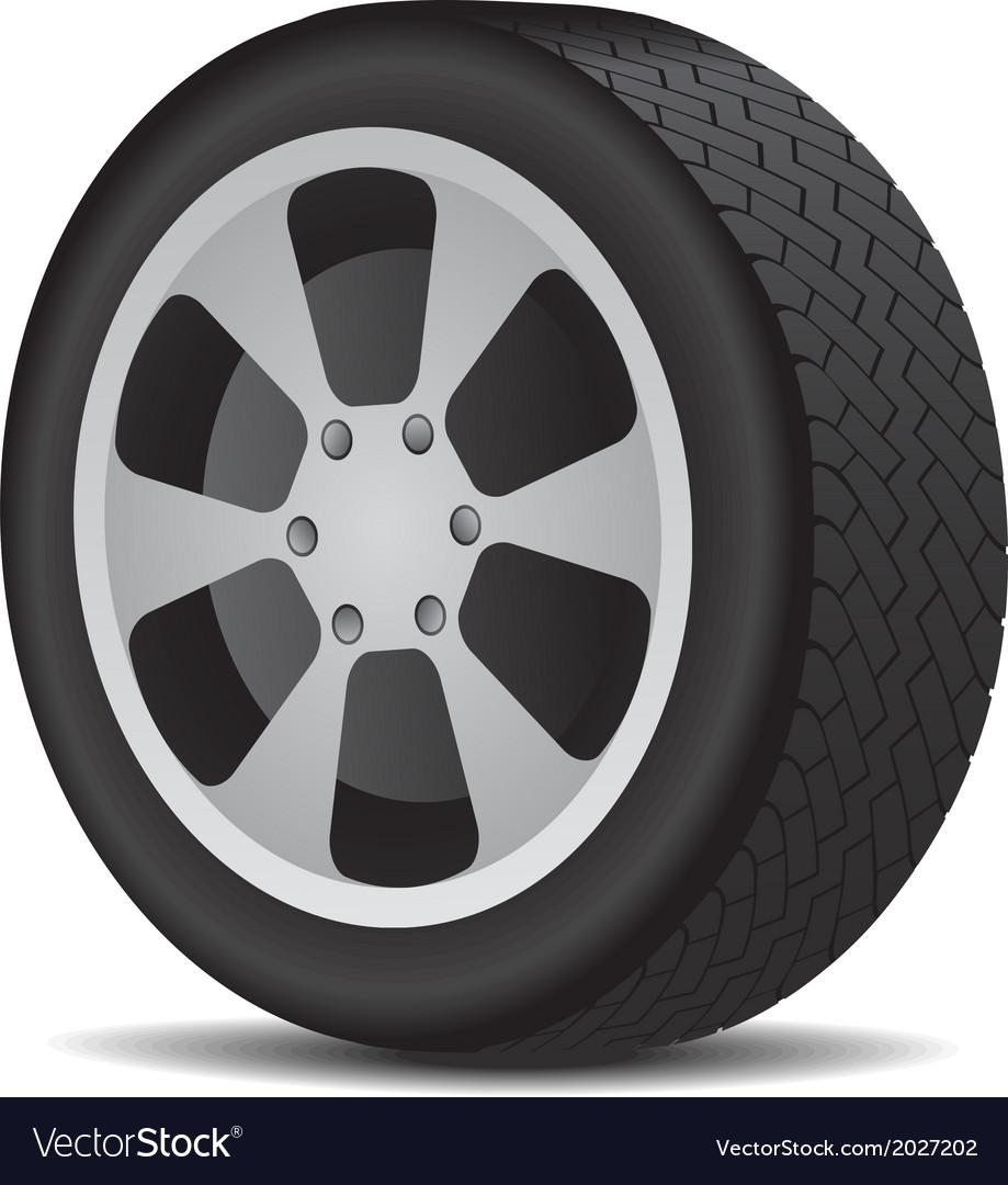 Auto wheel vector | Price: 1 Credit (USD $1)