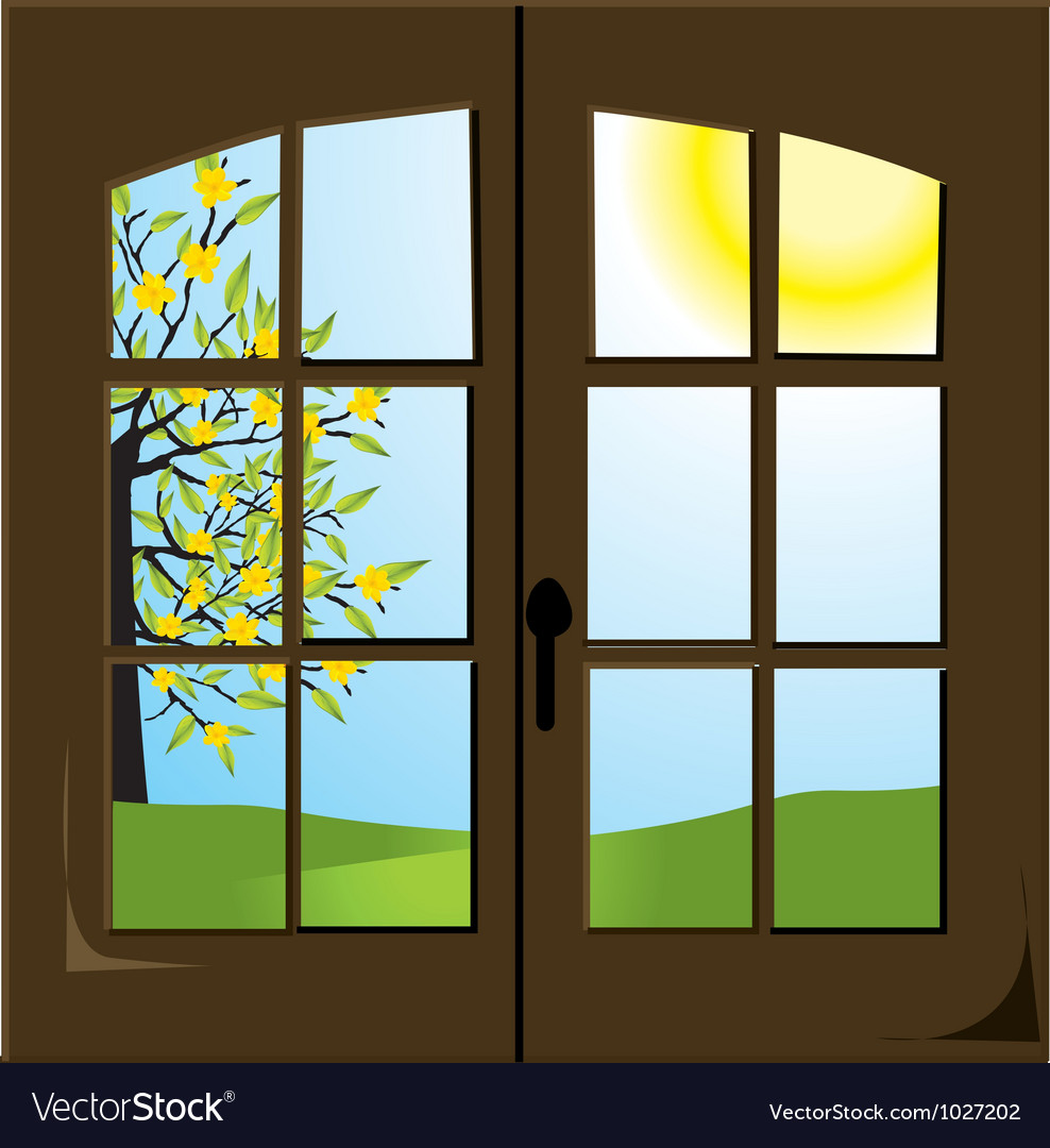 Spring field vector | Price: 1 Credit (USD $1)