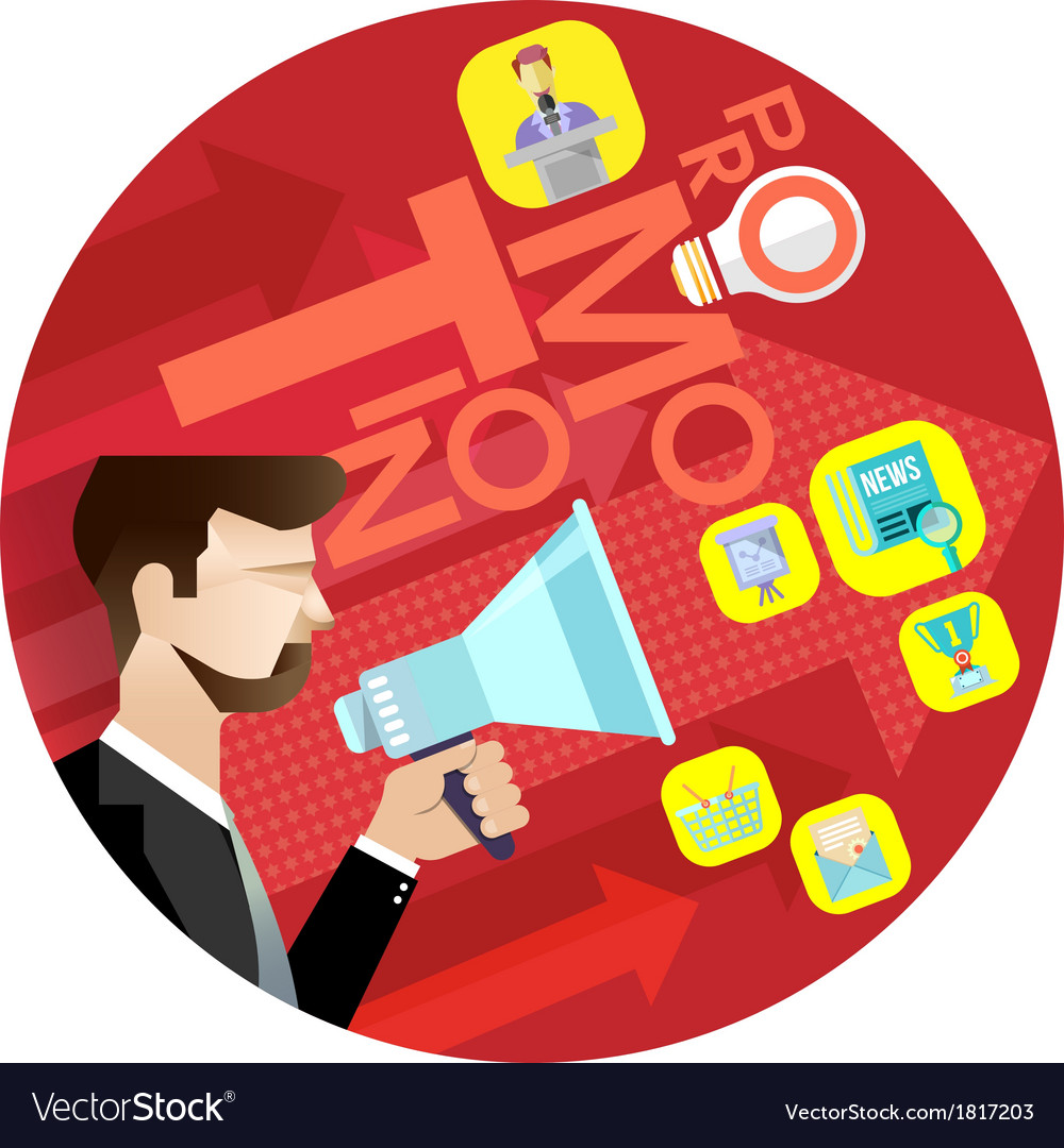 Business promotion concept vector | Price: 3 Credit (USD $3)