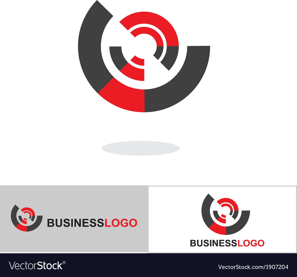 Abstract business logo and icon vector | Price: 1 Credit (USD $1)