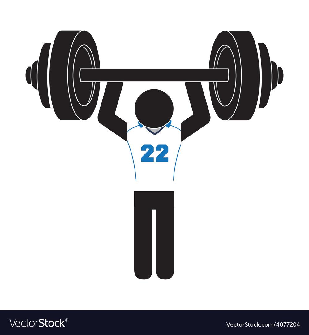 Gym concept vector | Price: 1 Credit (USD $1)