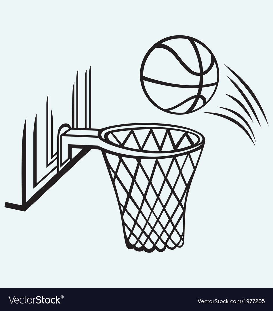 Basketball board vector | Price: 1 Credit (USD $1)