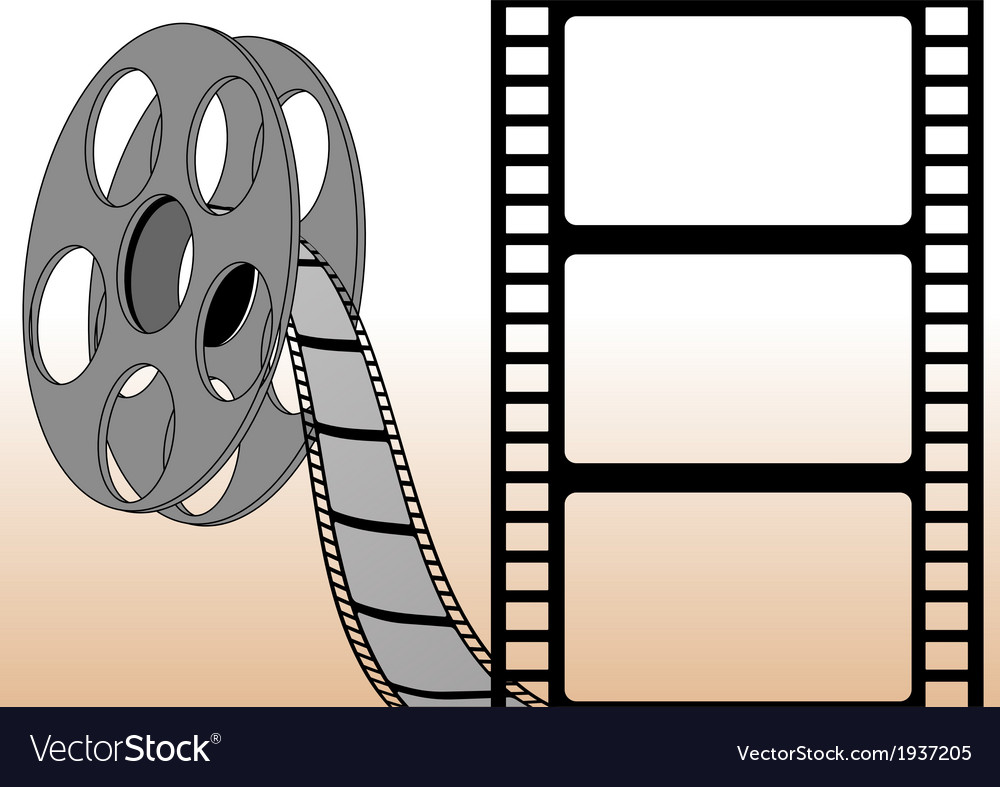 Filmstrips and roll vector | Price: 1 Credit (USD $1)