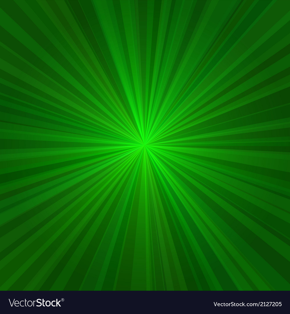 Light green rays abstract background vector | Price: 1 Credit (USD $1)