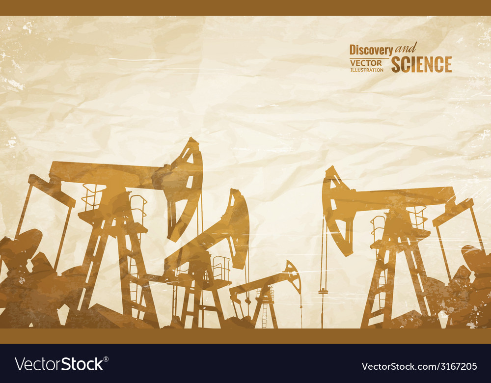Oil industry design vector | Price: 1 Credit (USD $1)