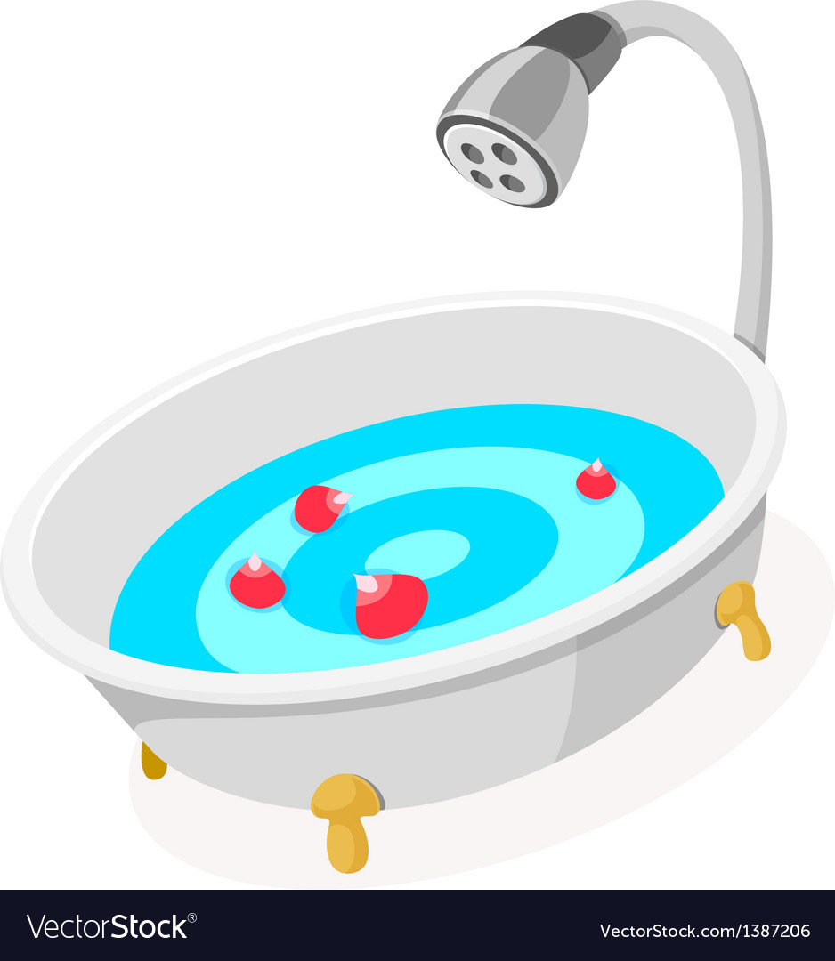 Icon bath vector | Price: 1 Credit (USD $1)