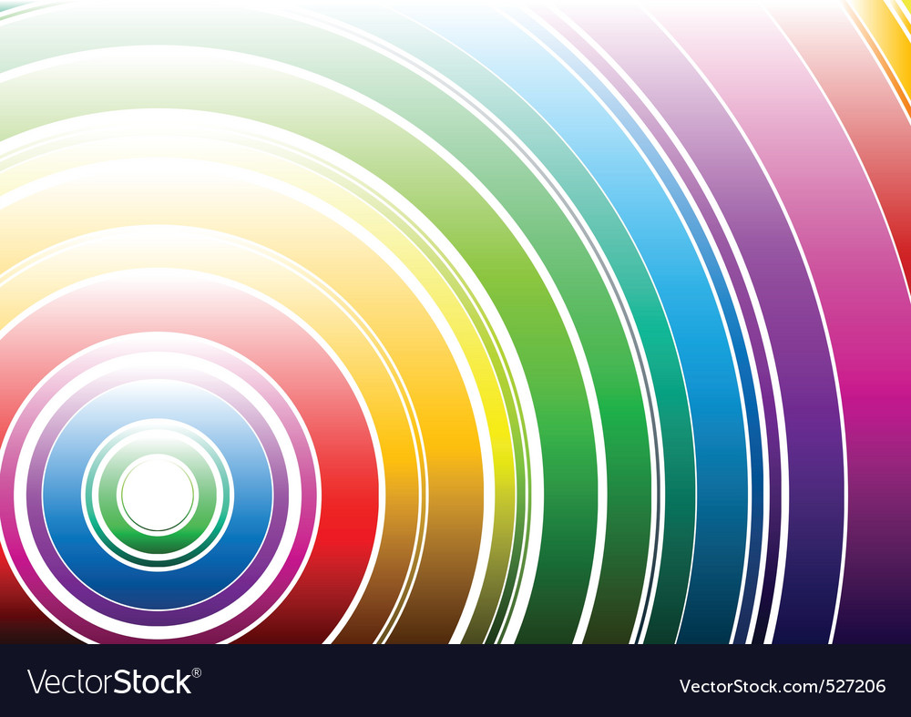 Light rainbow vector | Price: 1 Credit (USD $1)