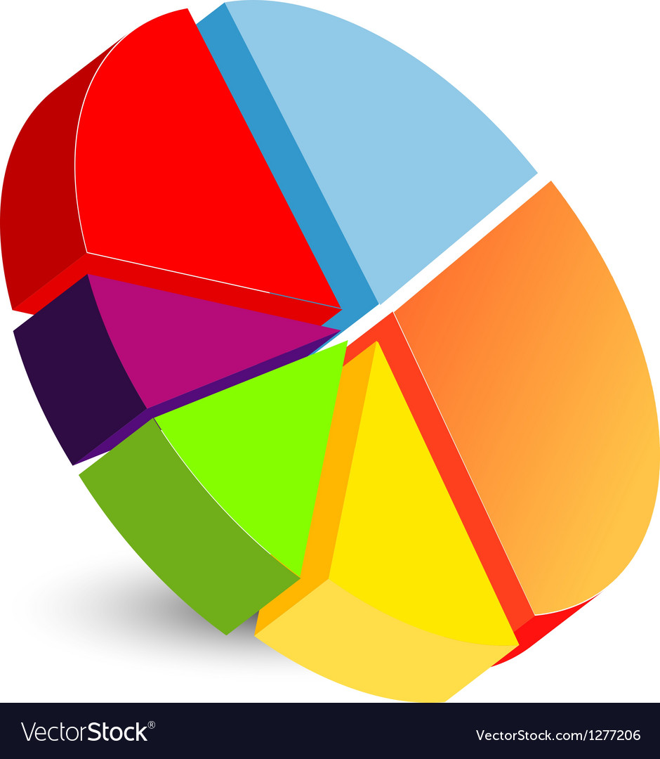 Pie chart icon vector | Price: 1 Credit (USD $1)