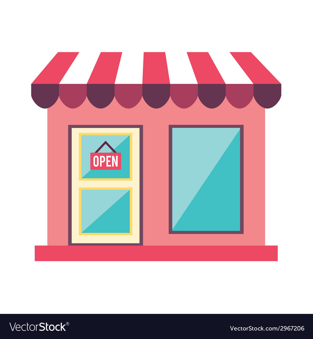 Store design vector | Price: 1 Credit (USD $1)