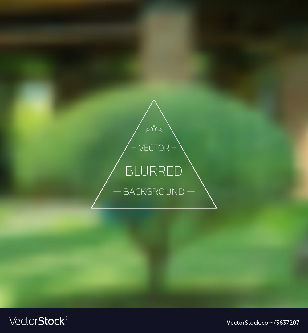 Abstract tree gradient mesh blurred background vector | Price: 1 Credit (USD $1)