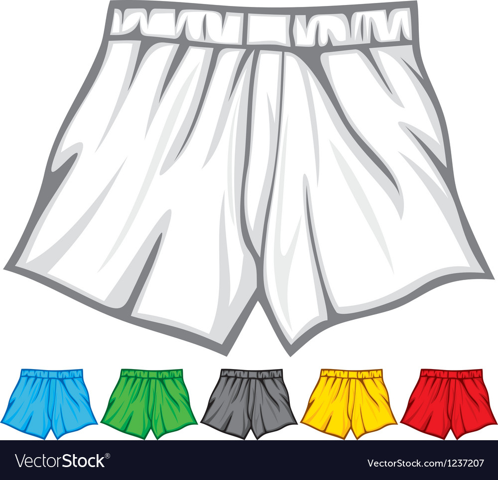 Boxer shorts collection vector | Price: 1 Credit (USD $1)