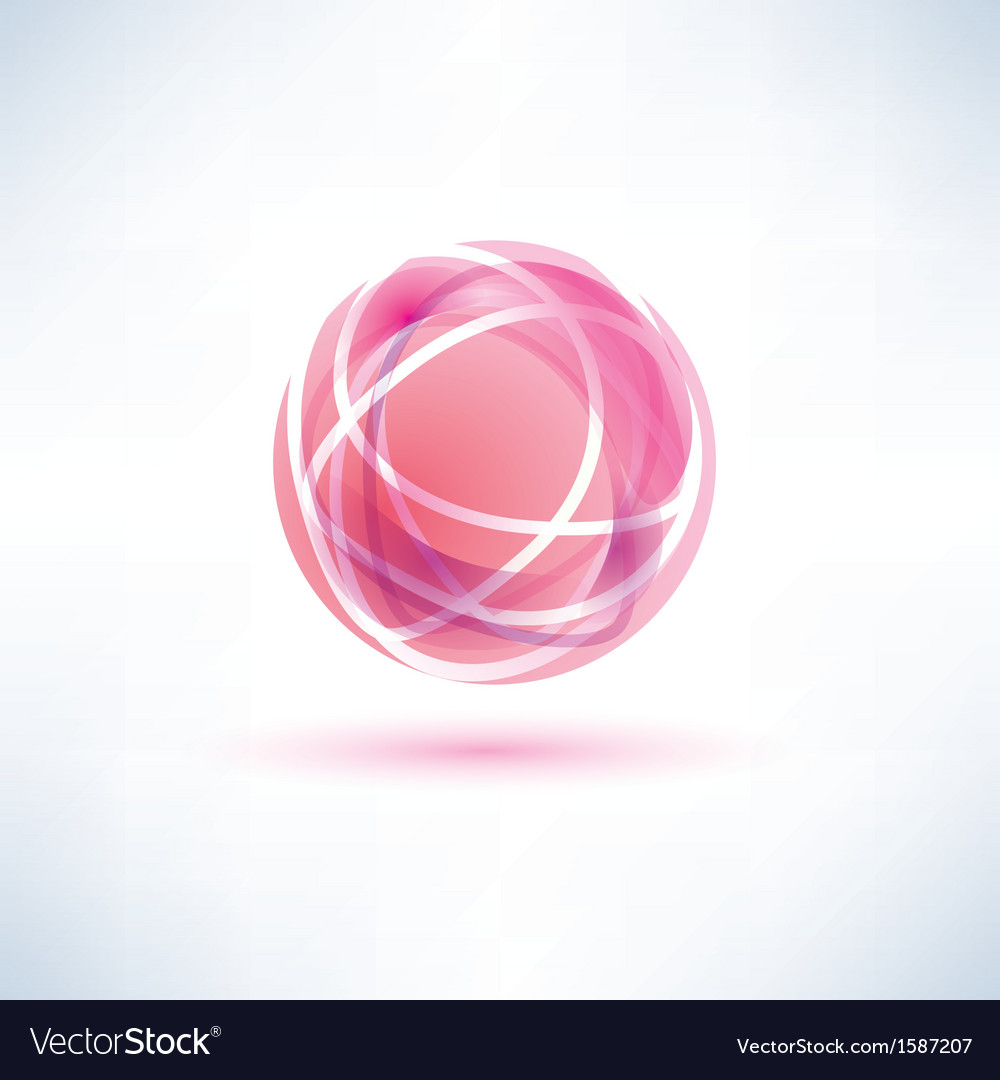 Red glossy ball vector | Price: 1 Credit (USD $1)
