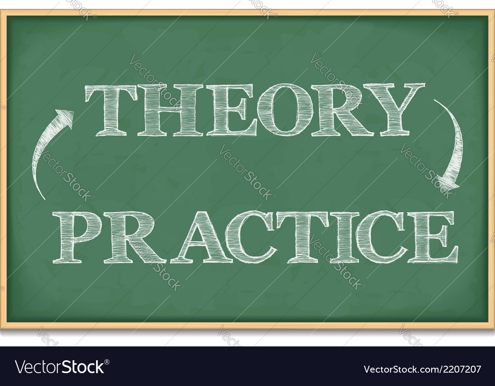 Theory practice vector | Price: 1 Credit (USD $1)