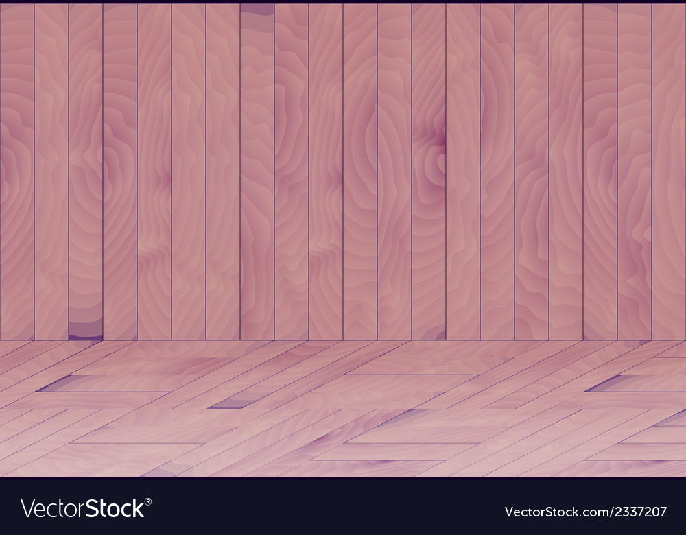 Wooden room with purple - blue wood vector   Price: 1 Credit (USD $1)
