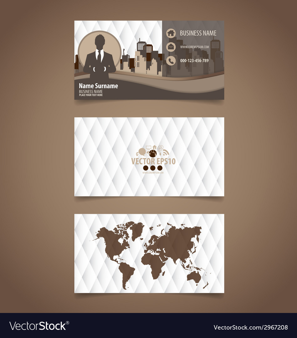 Abstract creative business card template vector   Price: 1 Credit (USD $1)
