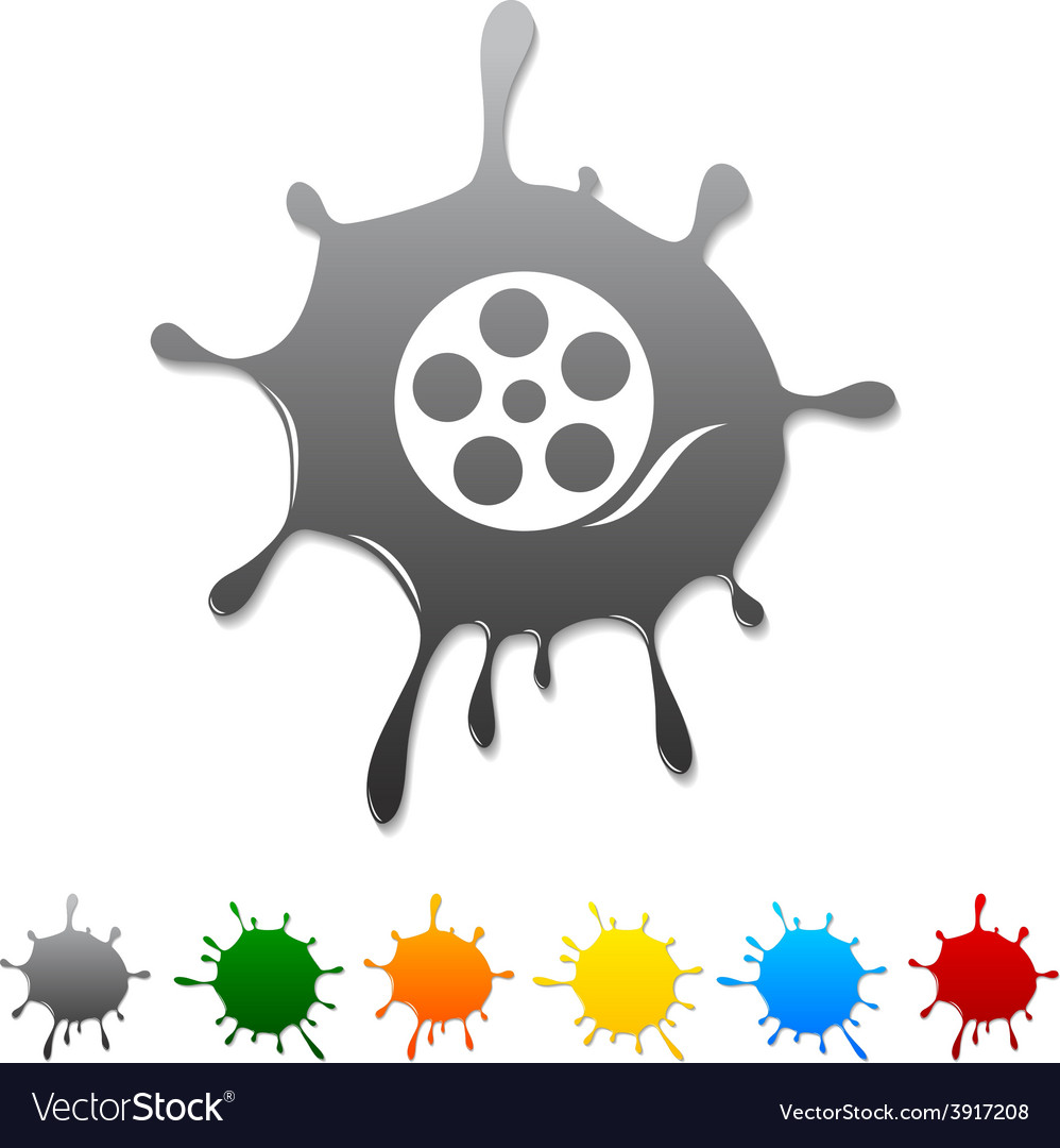 Media blot vector | Price: 1 Credit (USD $1)