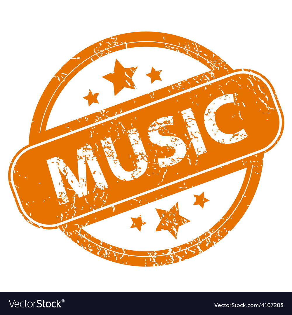 Music grunge icon vector | Price: 1 Credit (USD $1)