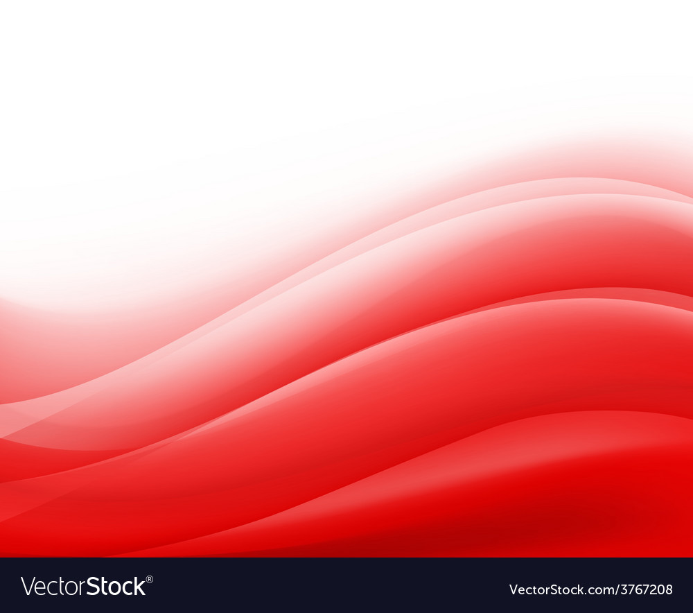 Red waves background folding vector | Price: 1 Credit (USD $1)