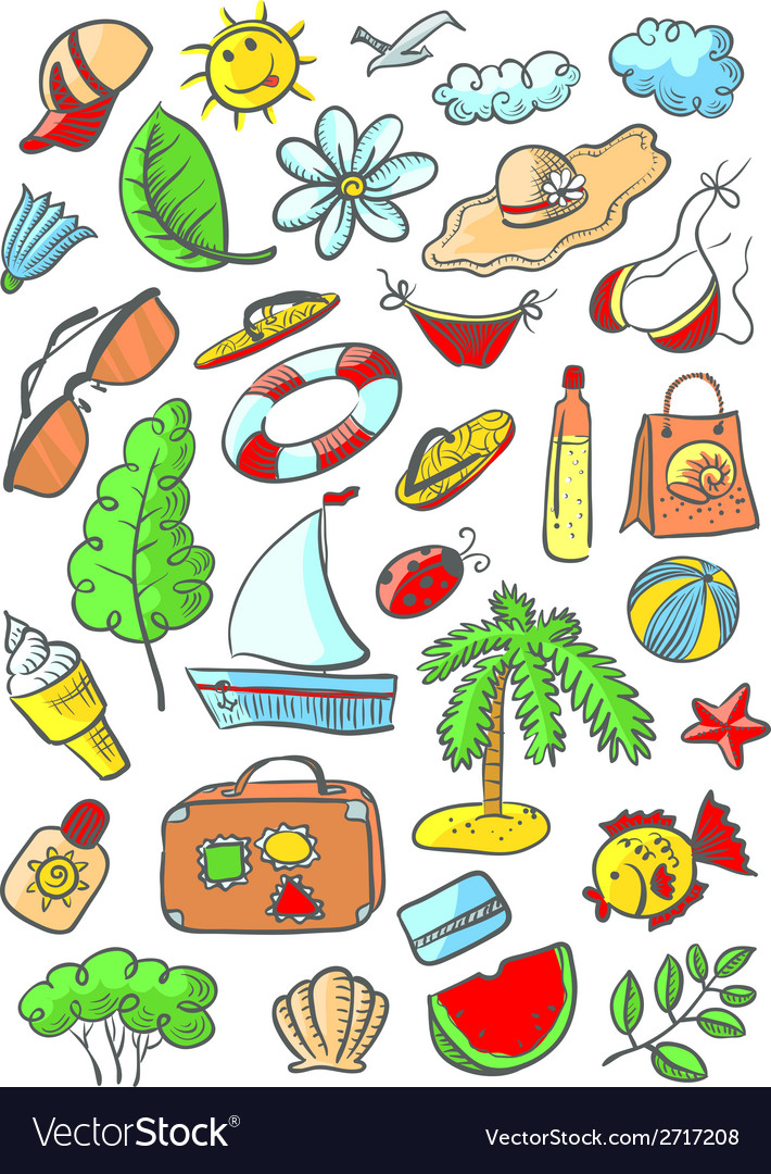 Summer object vector | Price: 1 Credit (USD $1)
