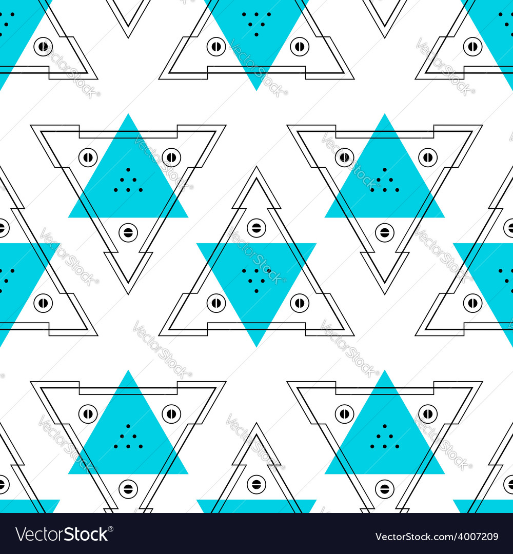 Abstract background geometric seamless pattern vector | Price: 1 Credit (USD $1)