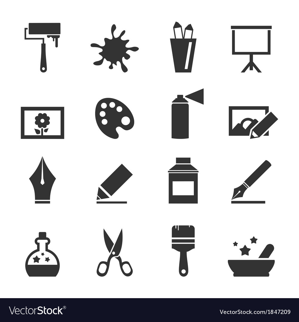 Art icon4 vector | Price: 1 Credit (USD $1)