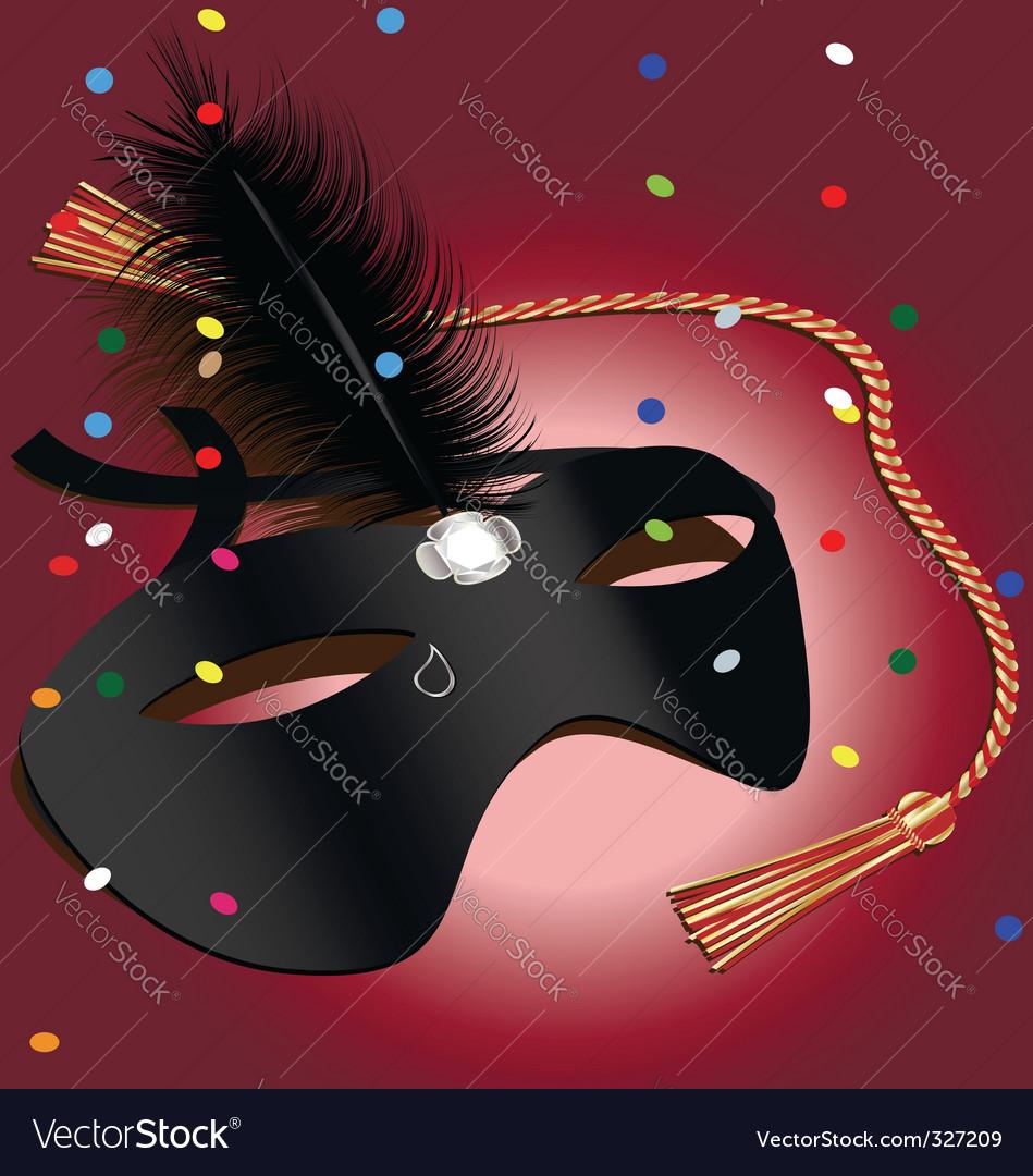 Carnival mask vector | Price: 3 Credit (USD $3)