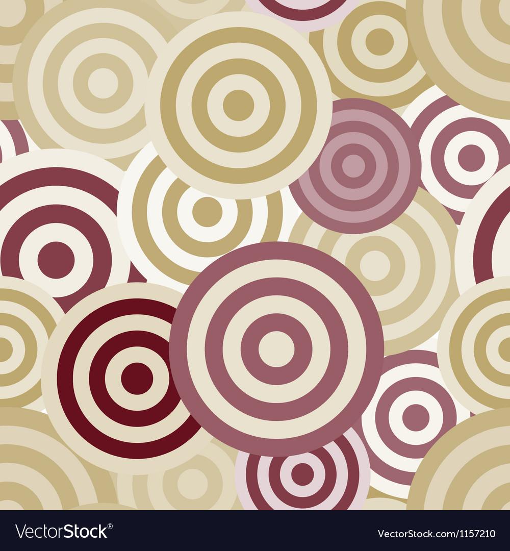 Seamless circle pattern vector   Price: 1 Credit (USD $1)