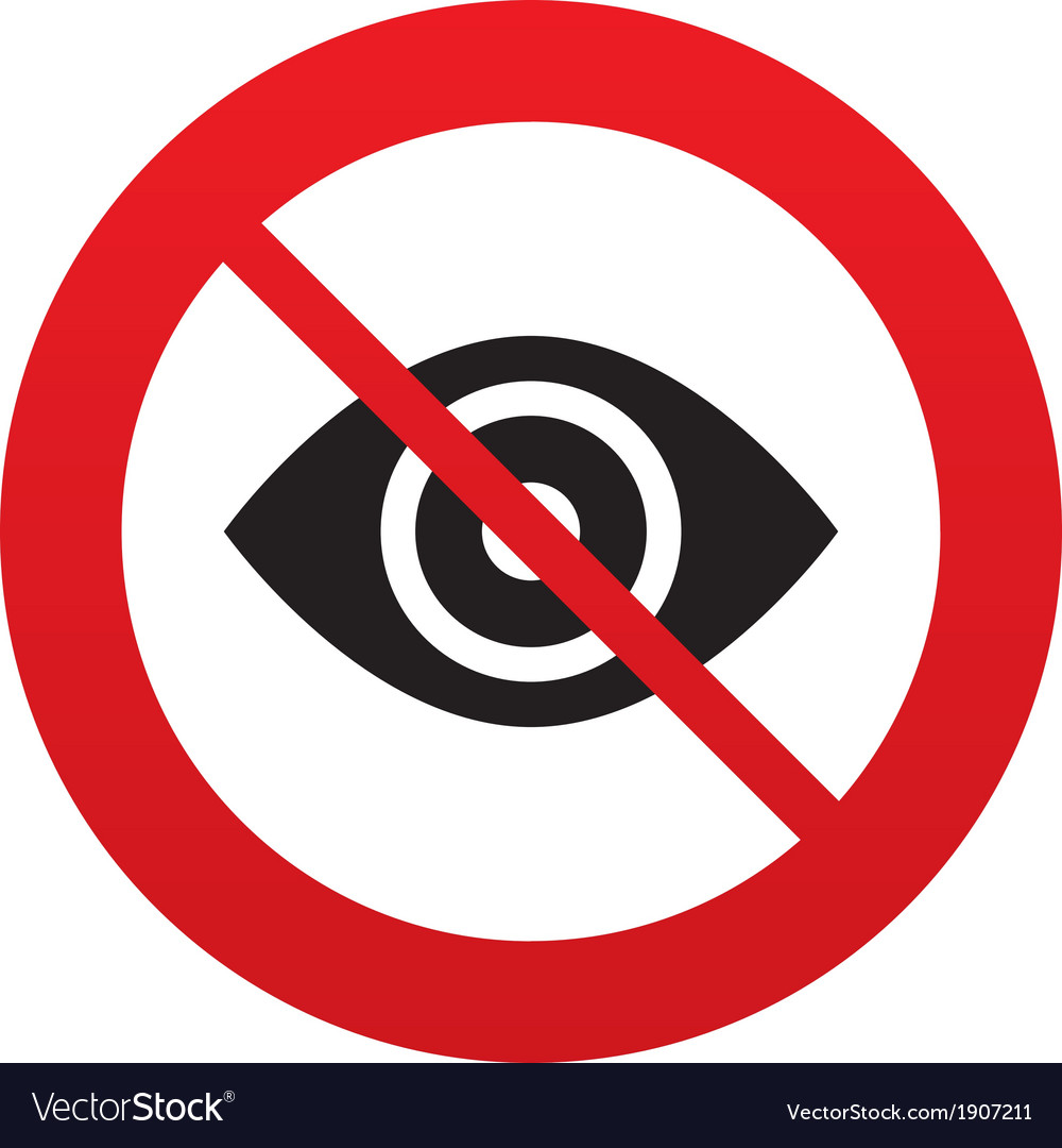 Eye sign icon publish content button vector   Price: 1 Credit (USD $1)