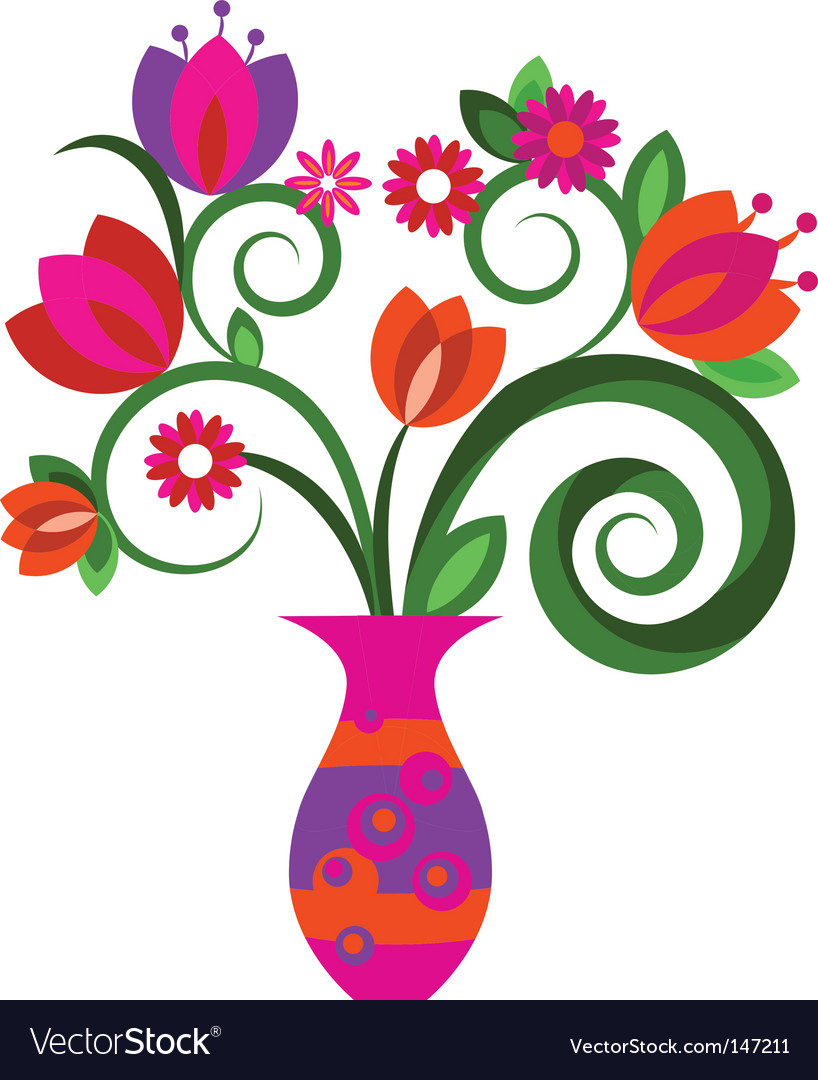 Floral graphic design vector | Price: 1 Credit (USD $1)