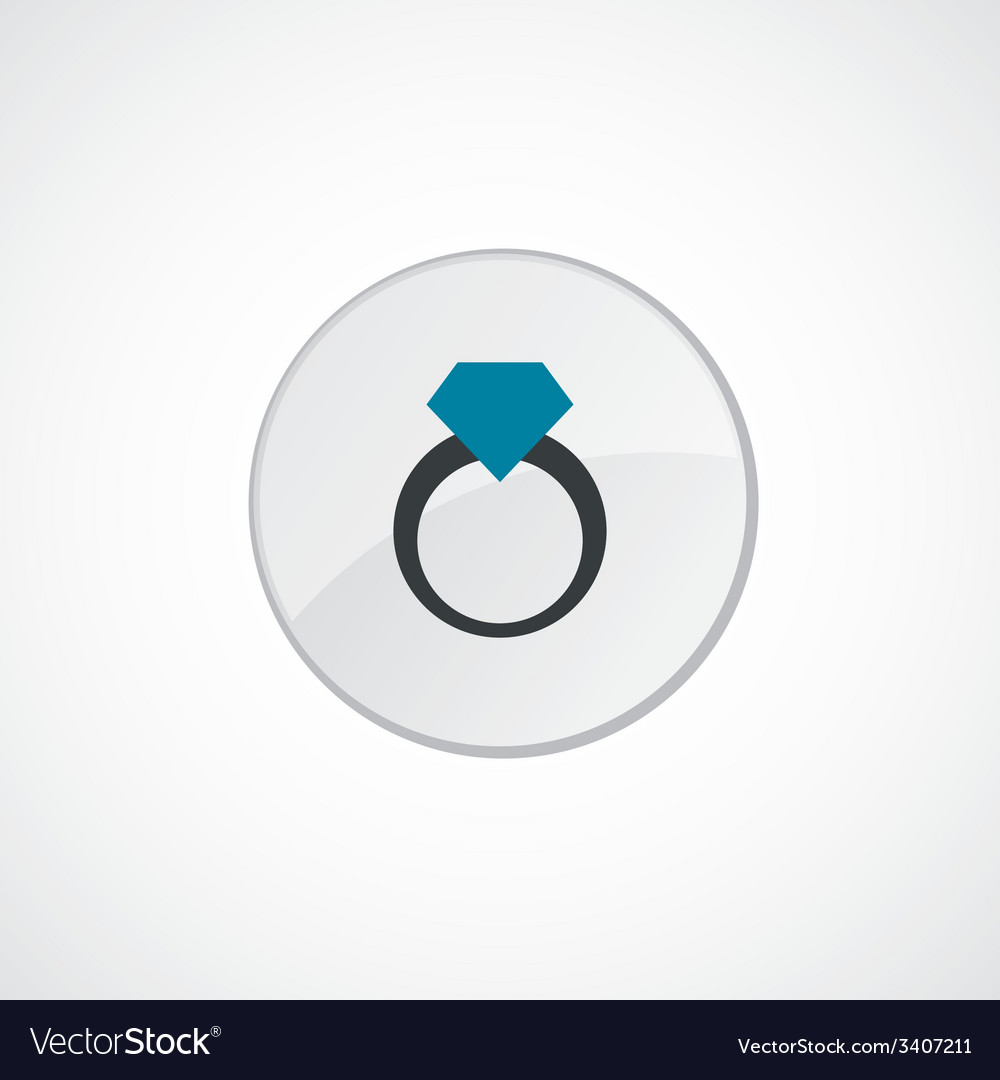 Ring icon 2 colored vector | Price: 1 Credit (USD $1)